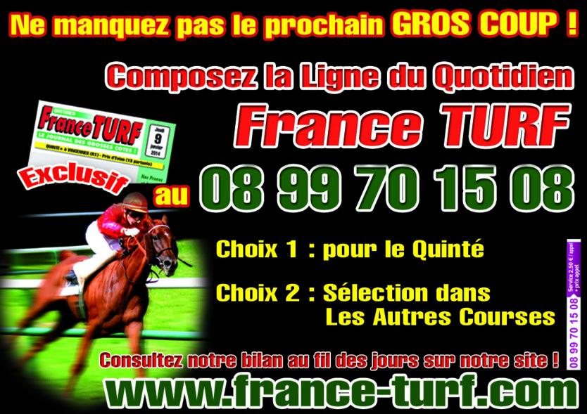 FRANCE TURF AU TELEPHONE