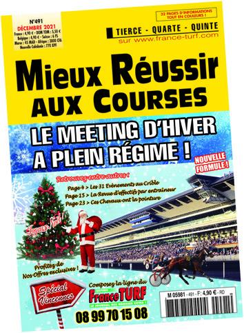 <br>Le Complément idéal à notre quotidien FRANCE TURF, <br>un abonnement à notre magazine MIEUX REUSSIR AUX COURSES